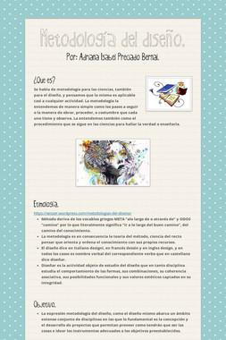 Metodología del diseño.