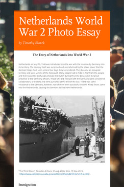 Netherlands World War 2 Photo Essay