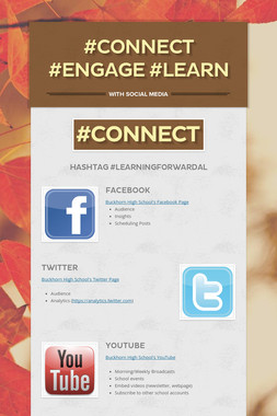 #Connect #Engage #Learn
