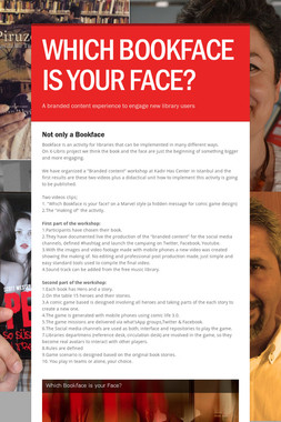 WHICH BOOKFACE IS YOUR FACE?
