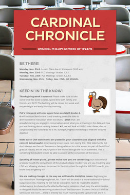 Cardinal Chronicle