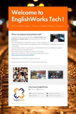 Welcome to EnglishWorks Tech !