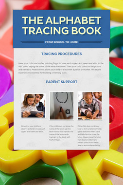 The Alphabet Tracing Book