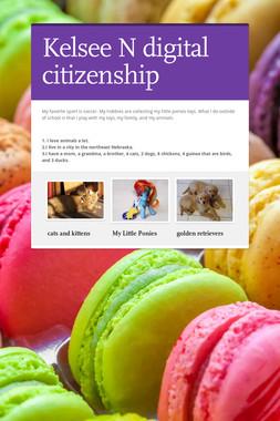 Kelsee N digital citizenship
