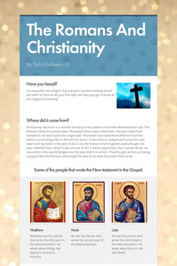 The Romans And Christianity