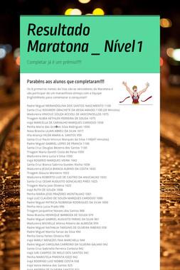 Resultado Maratona _ Nível 1