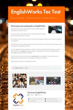 EnglishWorks Tec Test