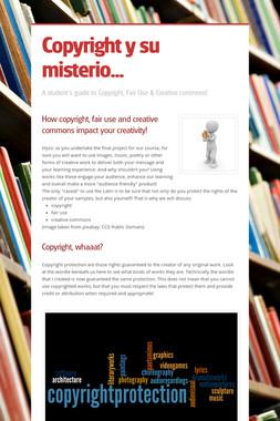 Copyright y su misterio...