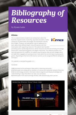 Bibliography of Resources