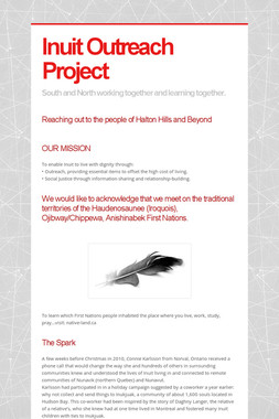 Inuit Outreach Project