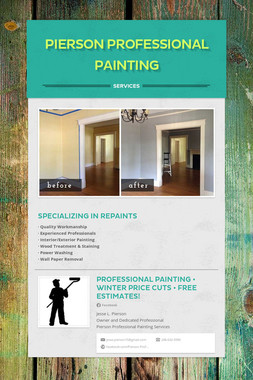 Pierson Professional Painting