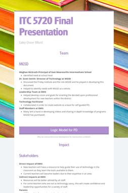 ITC 5720 Final Presentation
