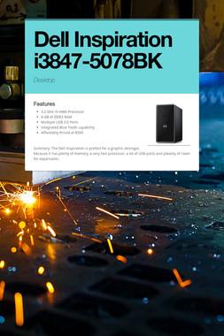 Dell Inspiration i3847-5078BK