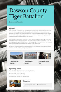Dawson County Tiger Battalion