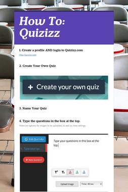 How To: Quizizz