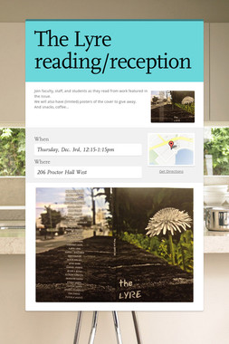 The Lyre reading/reception