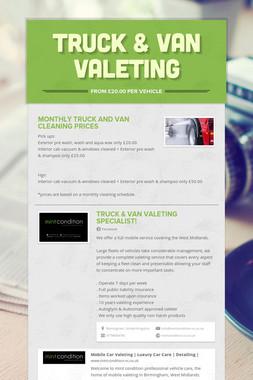 Truck & Van Valeting