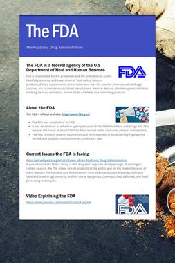 The FDA