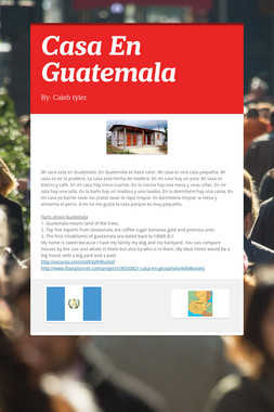 Casa En Guatemala