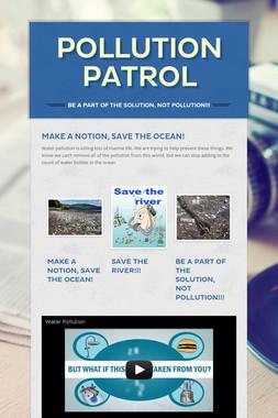 Pollution Patrol