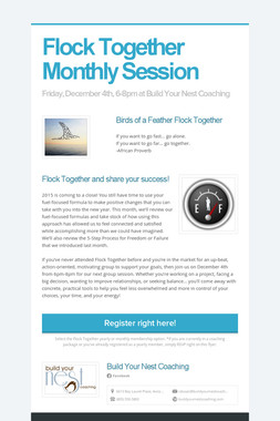 Flock Together Monthly Session