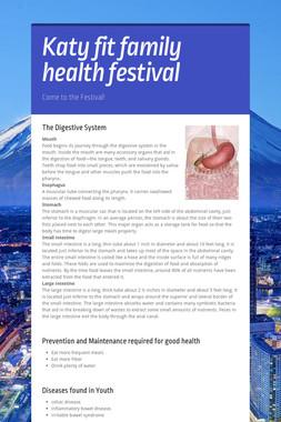 Katy fit family health festival