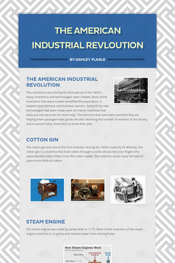 The American Industrial Revloution
