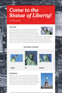 Come to the Statue of Liberty!