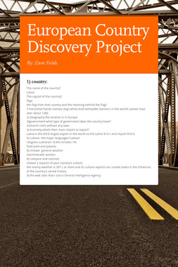 European Country Discovery Project