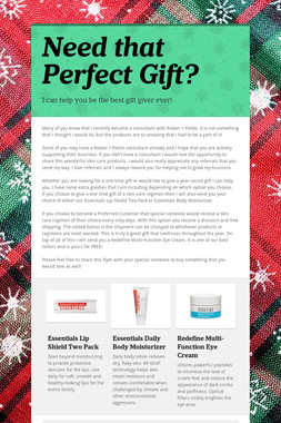 Need that Perfect Gift?