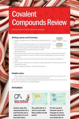 Covalent Compounds Review