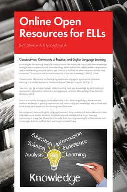 Online Open Resources for ELLs