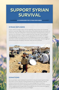 Support Syrian Survival