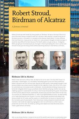 Robert Stroud, Birdman of Alcatraz