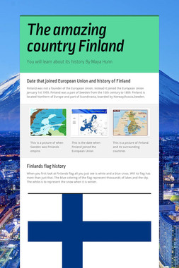 The amazing country Finland