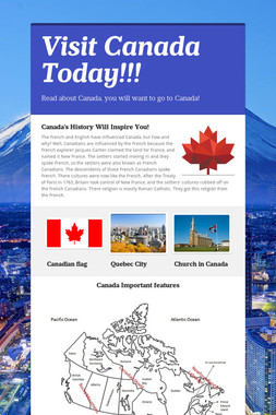 Visit Canada Today!!!