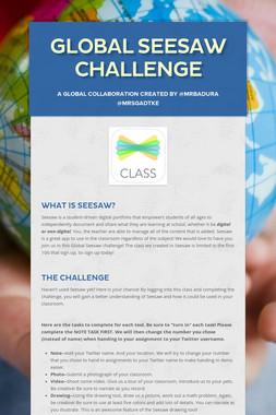 Global Seesaw Challenge