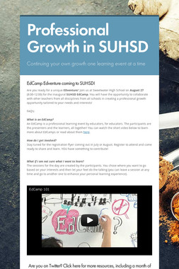 Professional Growth in SUHSD