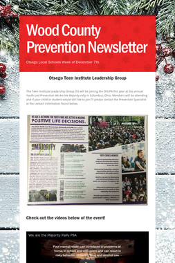 Wood County Prevention Newsletter