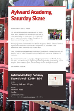 Aylward Academy, Saturday Skate