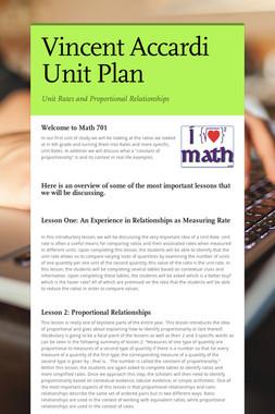 Vincent Accardi Unit Plan