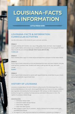 Louisiana-Facts & Information