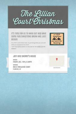 The Lillian Court Christmas
