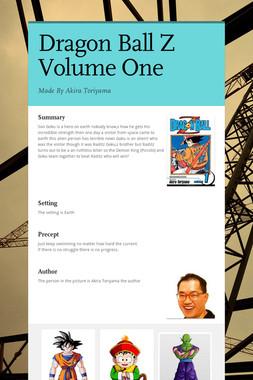 Dragon Ball Z Volume One
