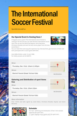 The International Soccer Festival