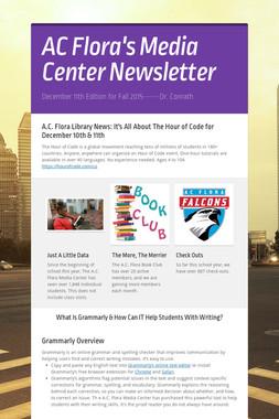 AC Flora's Media Center Newsletter