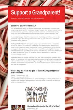 Support a Grandparent!