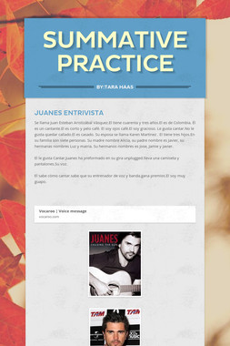 Summative Practice