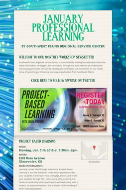 JANUARY PROFESSIONAL LEARNING