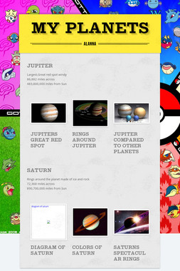 My Planets